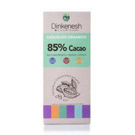 Barra de Chocolate Orgánico (100 gr) 85% cacao