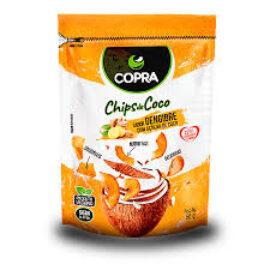 Chip de Coco Jengibre  60 gr