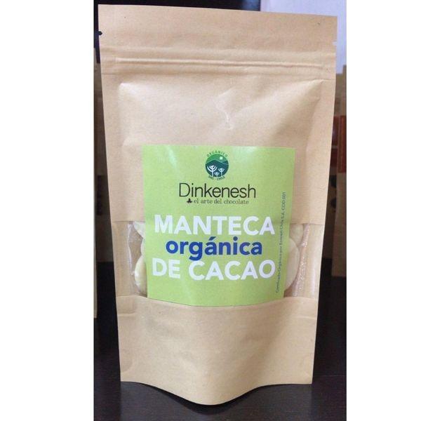 Manteca Organica de Cacao   100 gr