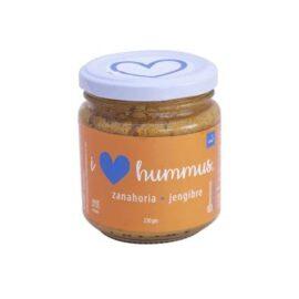 Hummus Zanahoria – Jengibre marca I Love Hummus (230gr)