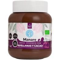 Crema de Avellanas y Cacao Manare   400 gr