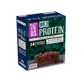 Wild Protein Vegana Chocolate Bitter 5 unidades