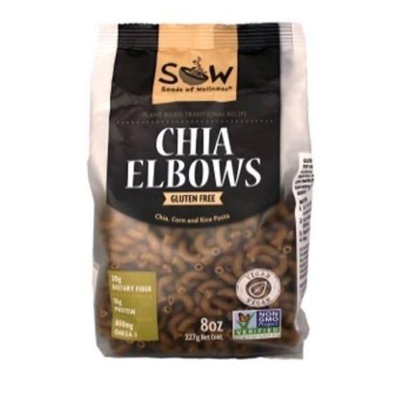 Pasta de Chia Elbows Sow 227 gr