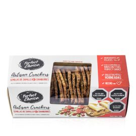Crackers semilla zapallo y cranberries        130gr